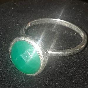 Jewelry - Blue Green Stone Fashion Ring